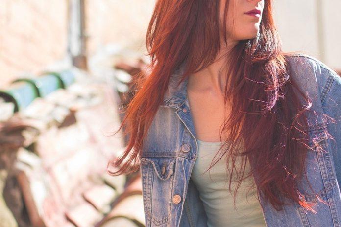 ruda farba do włosów