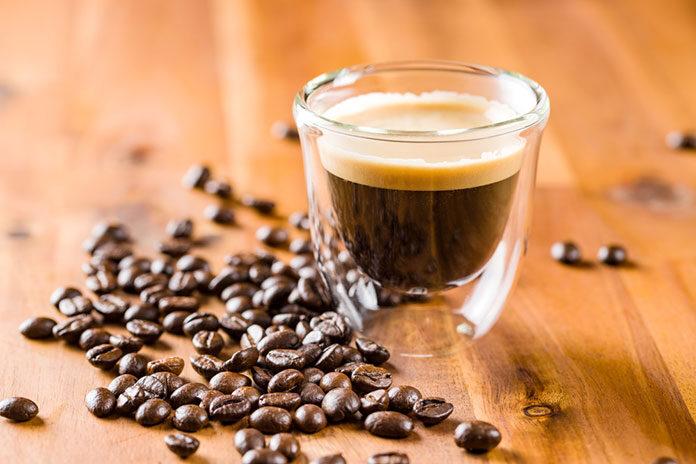 kącik kawowy w mieszkaniu